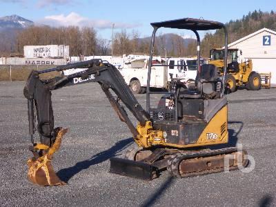 2008 JOHN DEERE 17D Mini Excavator (1 - 4.9 Tons)