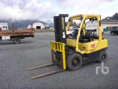 2007 HYSTER H60FT 5750 Lb Forklift