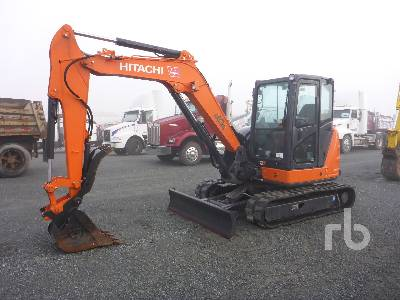 2018 HITACHI ZX60USB-5N Midi Excavator (5 - 9.9 Tons)