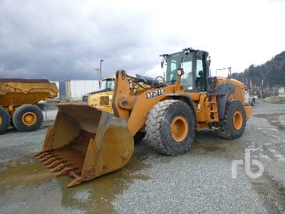 2012 CASE 1121F Wheel Loader
