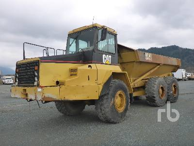 2000 CAT D250E Series II 6x6 Articulated Dump Truck