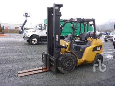 2011 CAT P8000 Forklift