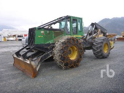 2006 JOHN DEERE 748G Series III Grapple Skidder