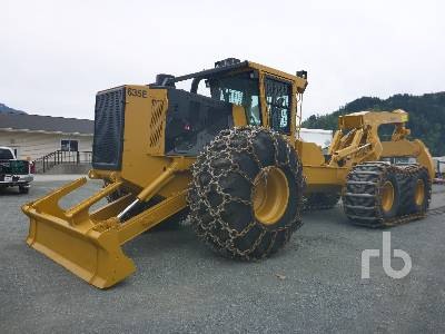 2015 TIGERCAT 635E Grapple Skidder