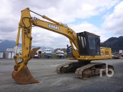 2005 JOHN DEERE 2054 Roadbuilder Hydraulic Excavator