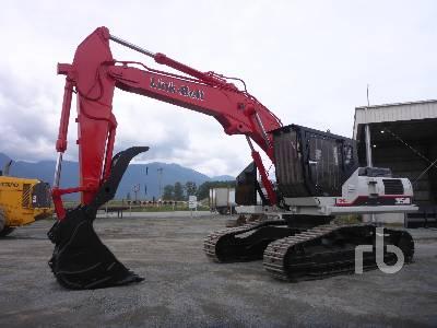 2015 LINK-BELT 350X2RBW Roadbuilder Hydraulic Excavator