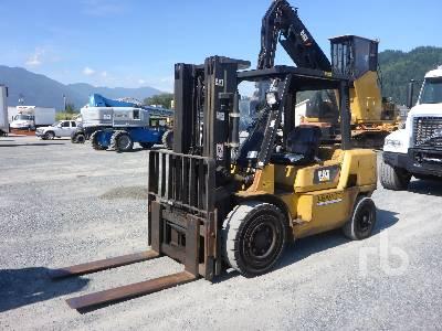 2007 CATERPILLAR DP45K-D2 10000 Lb Forklift