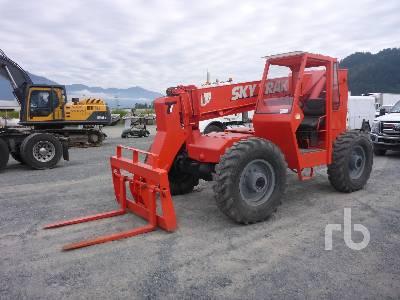 1987 SKYTRAK 6036 4x4x4 Telescopic Forklift
