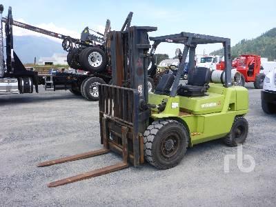 2005 MITSUBISHI FG40KL1 8800 Lb Forklift