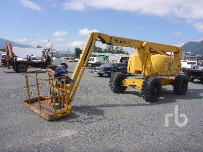 PINGUELY-HAULOTTE HA61JRT 4x4x4 Articulated Boom Lift