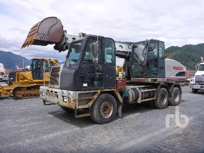 2004 GRADALL XL4100 Mobile Excavator