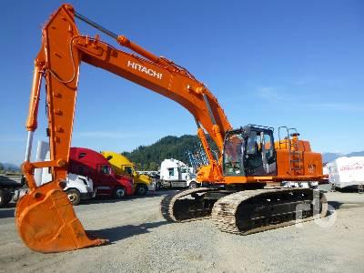 2007 HITACHI ZX450LC Hydraulic Excavator