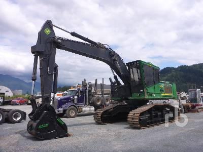 2013 JOHN DEERE 2954D Roadbuilder Hydraulic Excavator
