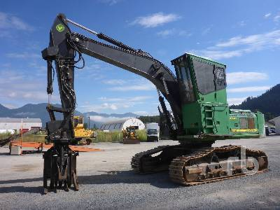 2013 JOHN DEERE 2954D Short Wood Log Loader