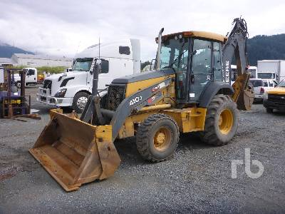 2009 JOHN DEERE 410J 4x4 Loader Backhoe