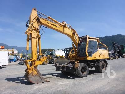 1997 HYUNDAI ROBEX 170W-3 Mobile Excavator