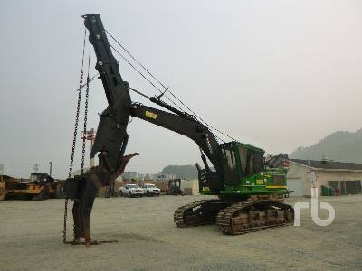 2013 JOHN DEERE 2954D Roadbuilder Winch Assist Hydraulic Excavator