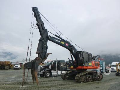 2014 HITACHI ZX290F-3 Roadbuilder Winch Assist Hydraulic Excavator