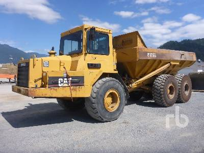 1989 CATERPILLAR D300B Articulated Dump Truck
