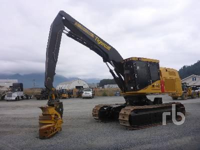 2017 TIGERCAT LS855D Steep Slope Harvester