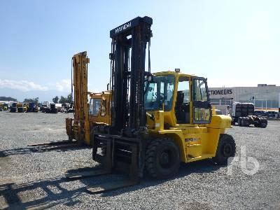 2012 HYUNDAI 110D-7E 21000 Lb Forklift