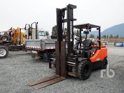 2008 DOOSAN G55C-5 12000 Lb Forklift
