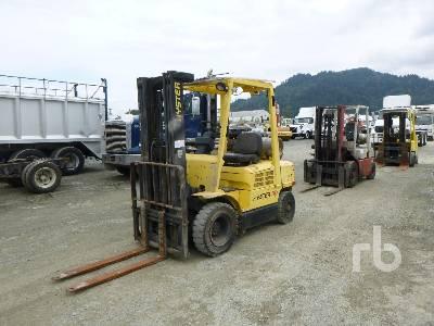2004 HYSTER H50XM 4000 Lb Forklift