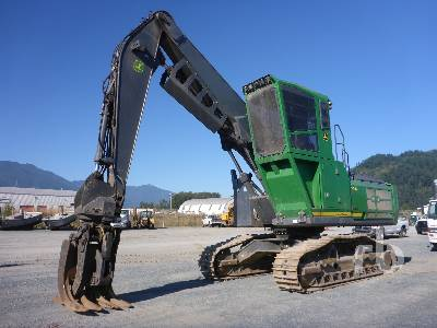 2018 JOHN DEERE 3156G Short Wood Log Loader