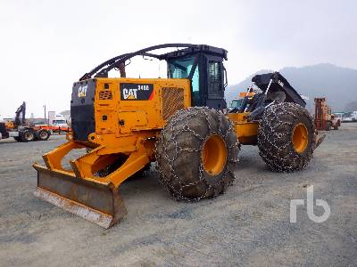 2015 CATERPILLAR 545D Grapple Skidder