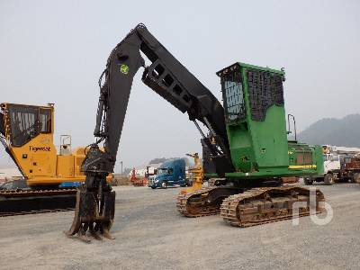 2013 JOHN DEERE 2454D Short Wood Log Loader
