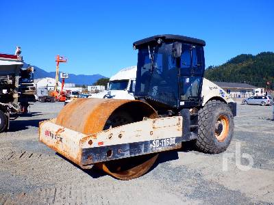 2000 INGERSOLL-RAND SD116DX Vibratory Roller