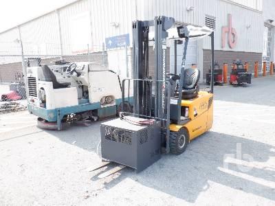 2011 JUNGHEINRICH EFG115 2800 Lb Electric Forklift