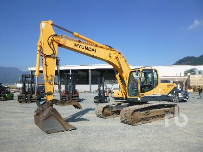2009 HYUNDAI ROBEX 210LC-9 Hydraulic Excavator