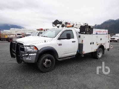 2012 DODGE RAM 5500 4x4 Service Truck