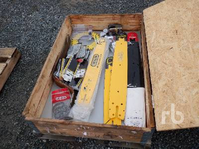 Qty Of Harvester Bar & Chains Logging Equipment - Other