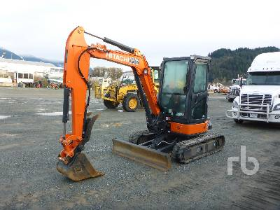 2020 HITACHI ZX35U-5N Mini Excavator (1 - 4.9 Tons)