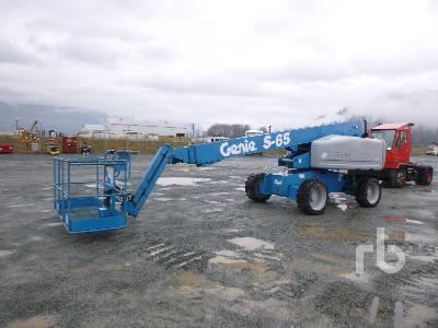 2006 GENIE S65 4x4 Boom Lift