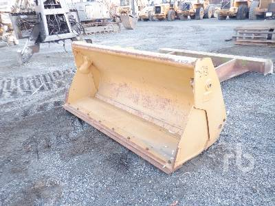 Unused CATERPILLAR 90 In. 4-in-1 Loader Backhoe Bucket