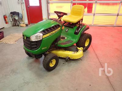 JOHN DEERE D140 48 In. Ride On Garden Tractor