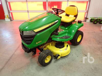 JOHN DEERE X350 48 In. Ride On Garden Tractor