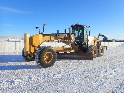 2014 CATERPILLAR 14M VHP Plus Motor Grader