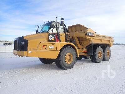 2013 CATERPILLAR 740B Ejector Articulated Dump Truck