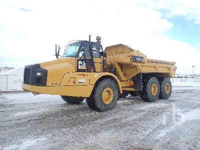 2012 CATERPILLAR 740B Ejector Articulated Dump Truck