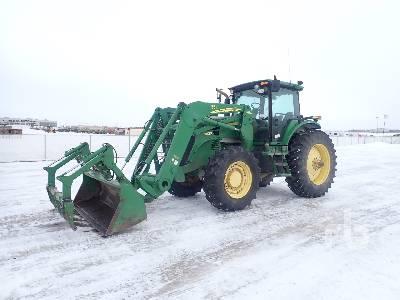 2008 JOHN DEERE 7630 MFWD Tractor