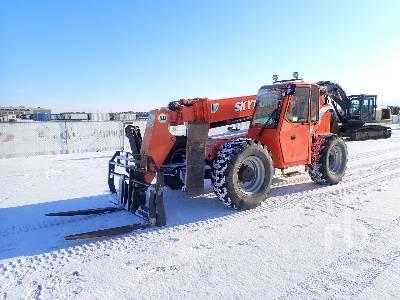 2006 SKYTRAK 10000 Lb 4x4x4 Telescopic Forklift