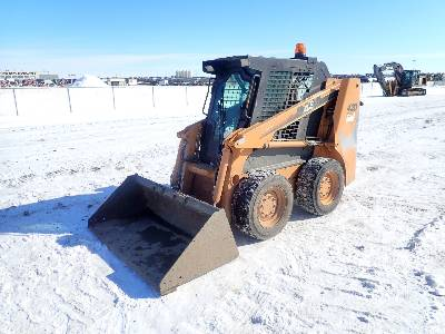 2005 CASE 420 Skid Steer Loader