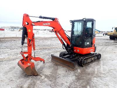 2015 KUBOTA U35-4GA Mini Excavator (1 - 4.9 Tons)