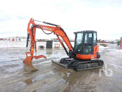2016 KUBOTA KX0574 Mini Excavator (1 - 4.9 Tons)