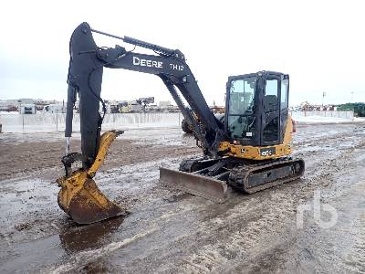 2013 JOHN DEERE 60G Mini Excavator (1 - 4.9 Tons)