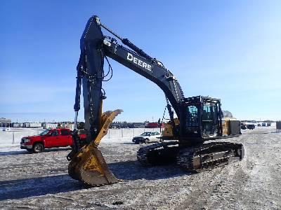 2018 JOHN DEERE 300G LC Hydraulic Excavator